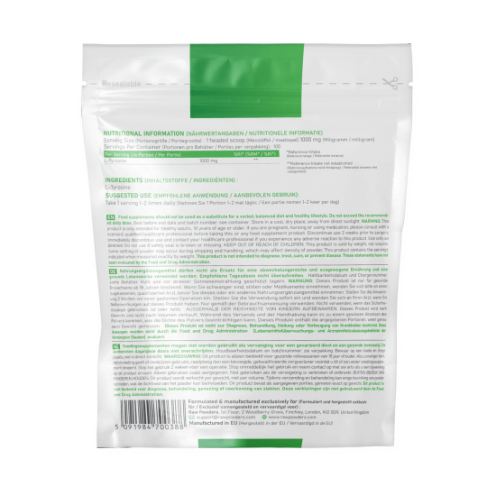 L-tirozino milteliai (100 g)