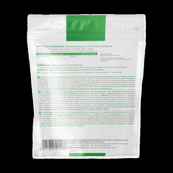 Aviečių ketonas (500 mg 60 kapsulių)