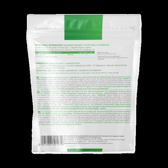 Ašvaganda (500 mg 60 kapsulių)