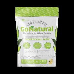 """""""Go Natural"""" išrūgų baltymai (1 kg)"""