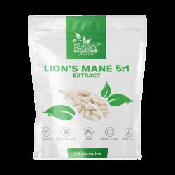 Lion's Mane 5:1 ekstraktas (500 mg 90 kapsulių)