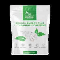 Smooth Energy Plus (L-teaninas + Kofeinas) (60 kapsulių)