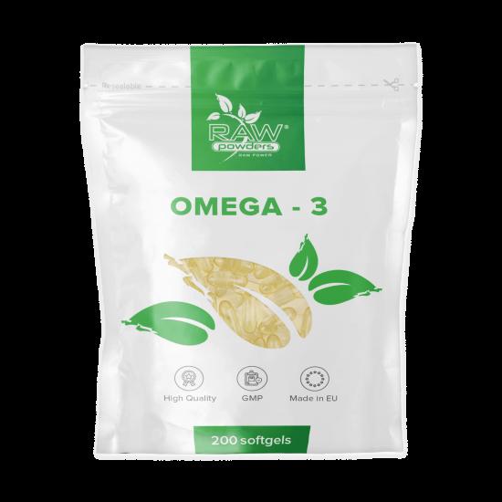 Omega-3 (200 kapsulių)
