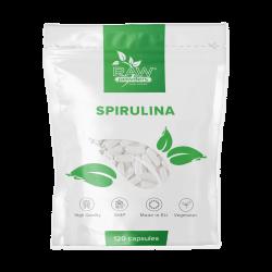 Spirulina (500 mg 120 kapsulių)